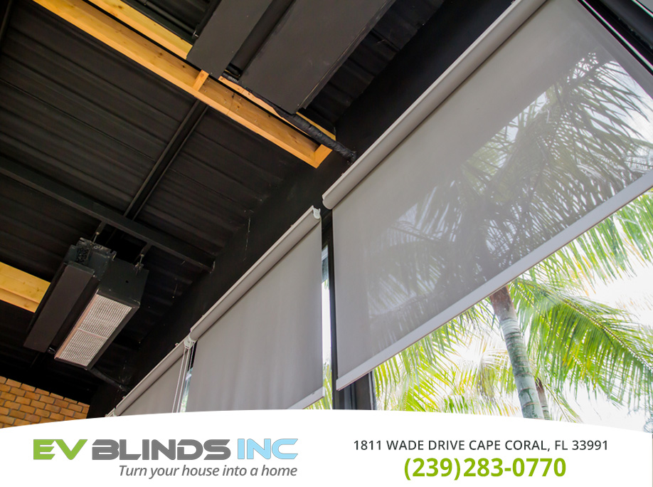 Commercial Blinds in and near Bonita Springs Florida