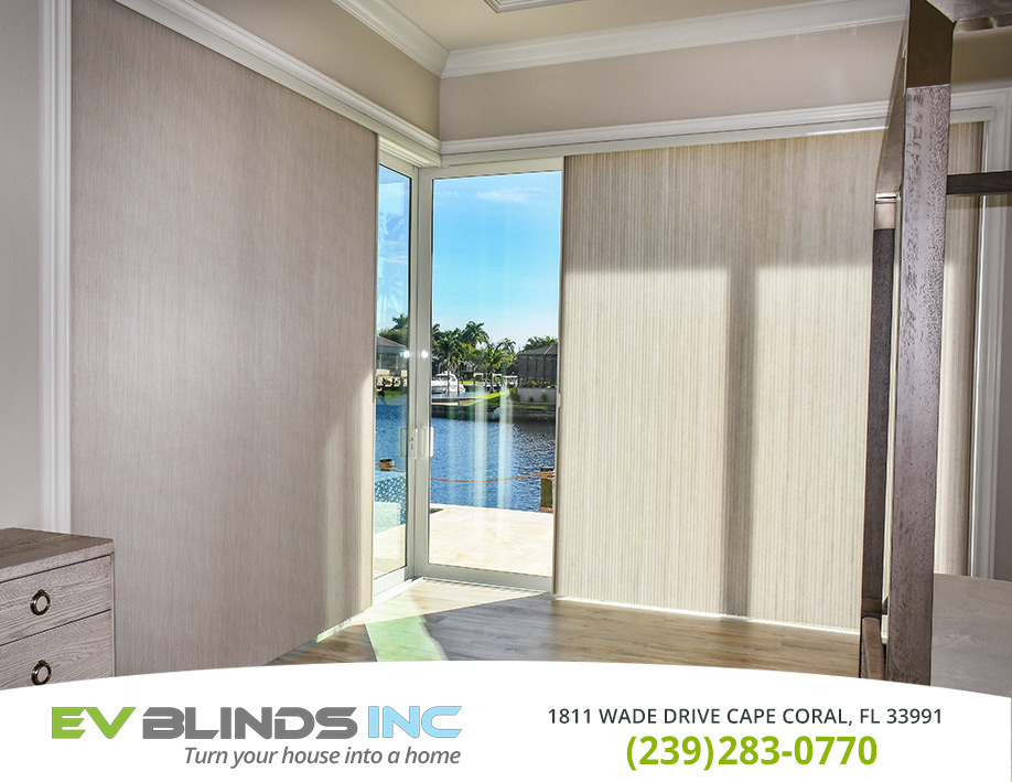 Custom Blinds in and near Bonita Springs Florida