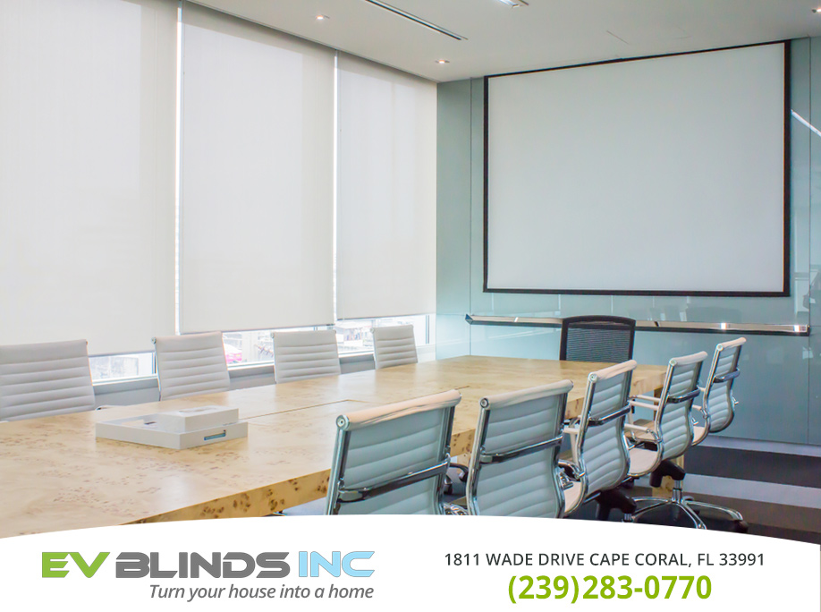 Office Blinds in and near Bonita Springs Florida