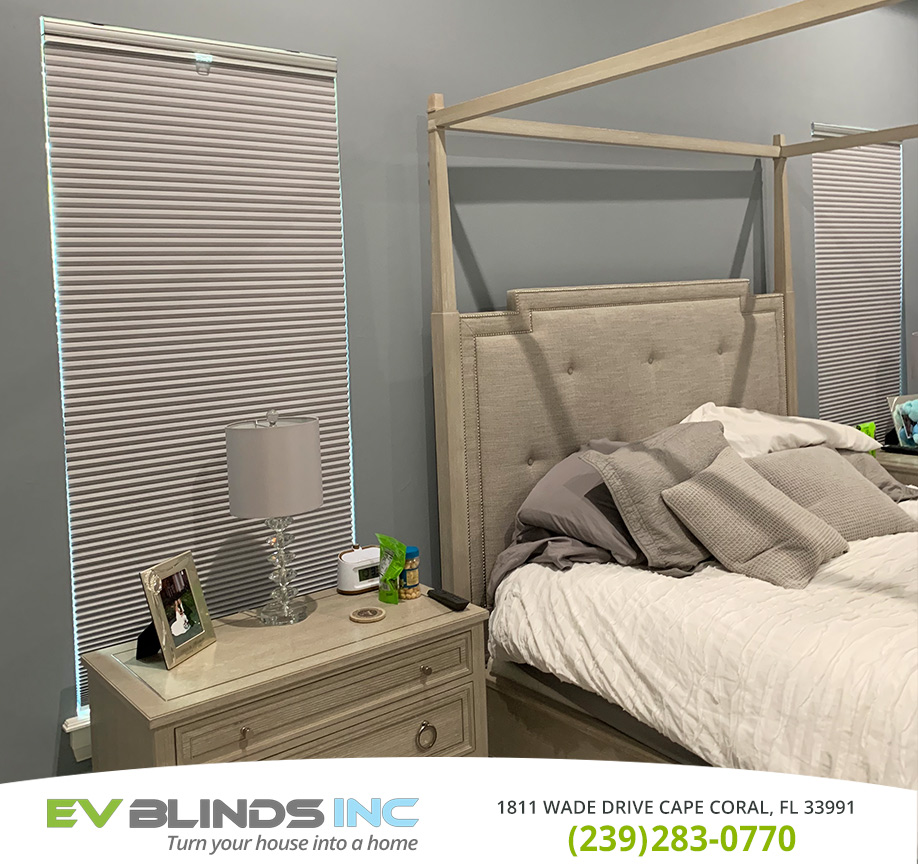 Room Darkening Blinds in and near Bonita Springs Florida