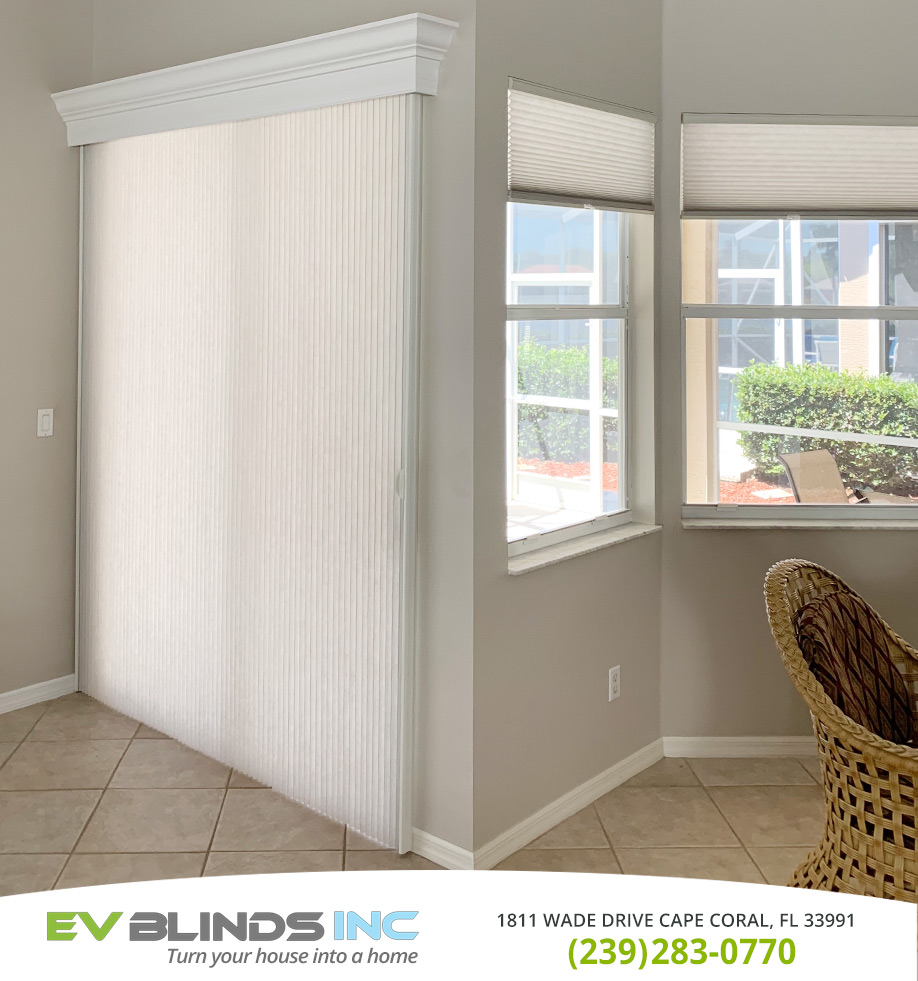 Cordless Blinds in and near Cape Coral Florida