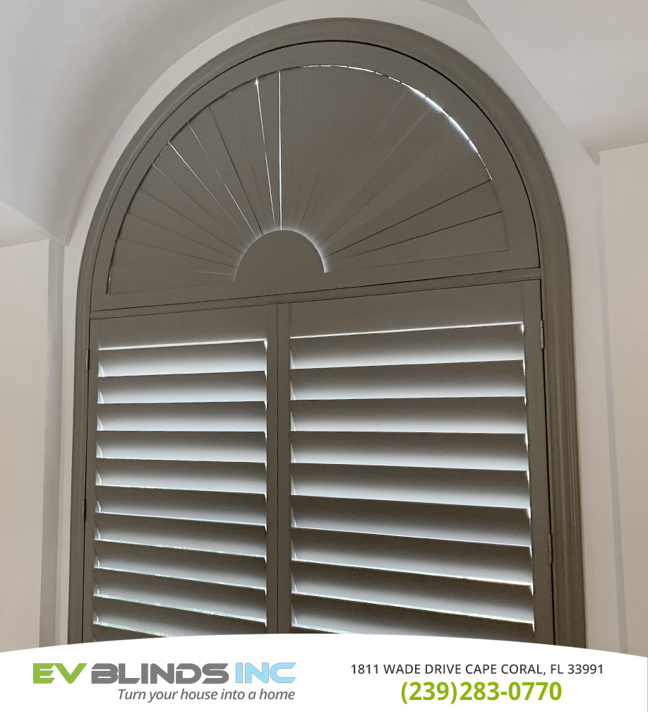Grey Blinds in and near Cape Coral Florida