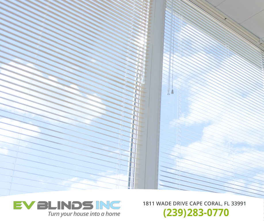Mini Blinds in and near Cape Coral Florida