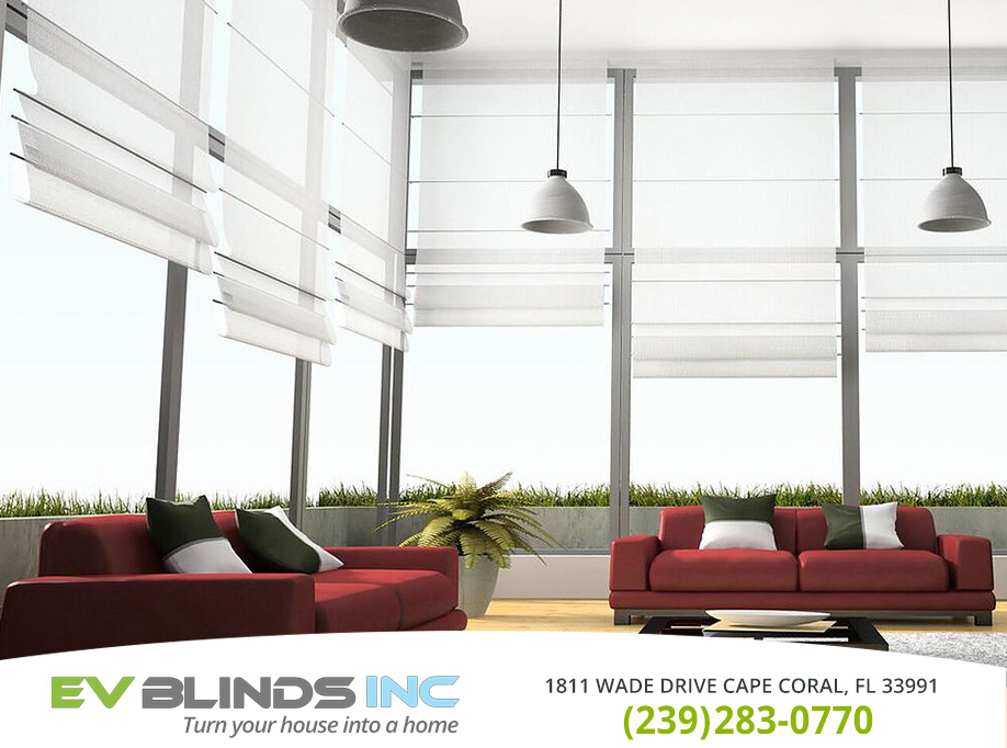 Motorized Blinds in and near Cape Coral Florida