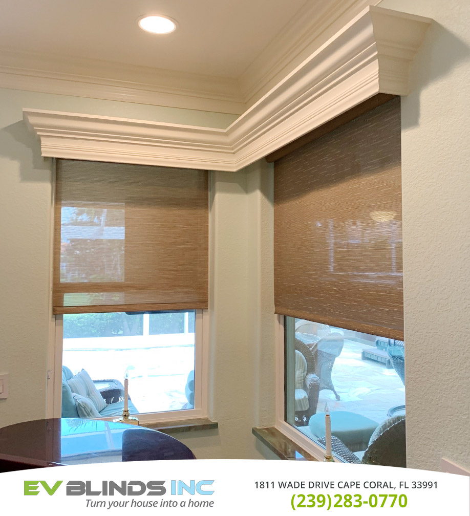 Roller Blinds in and near Cape Coral Florida