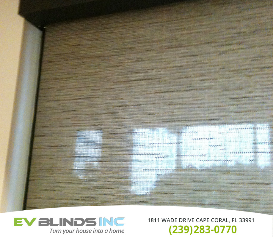 Fabric Blinds in and near Marco Island Florida