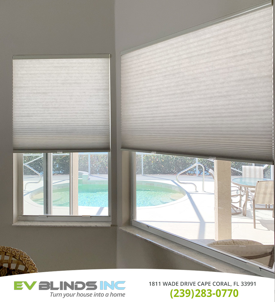 Honeycomb Blinds in and near Marco Island Florida