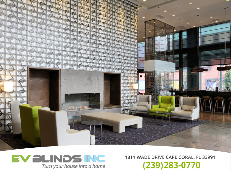 Hotel Blinds in and near Marco Island Florida
