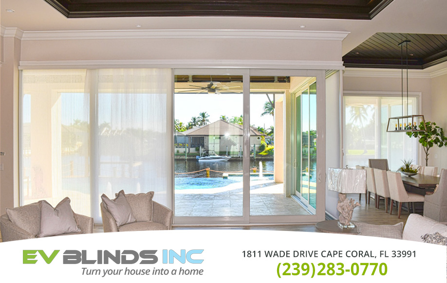 Luxury Blinds in and near Marco Island Florida