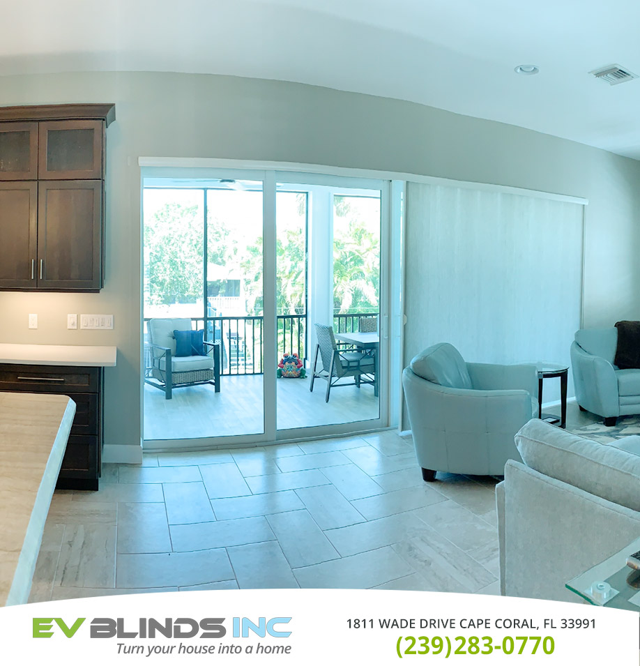 Residential Blinds in and near Marco Island Florida