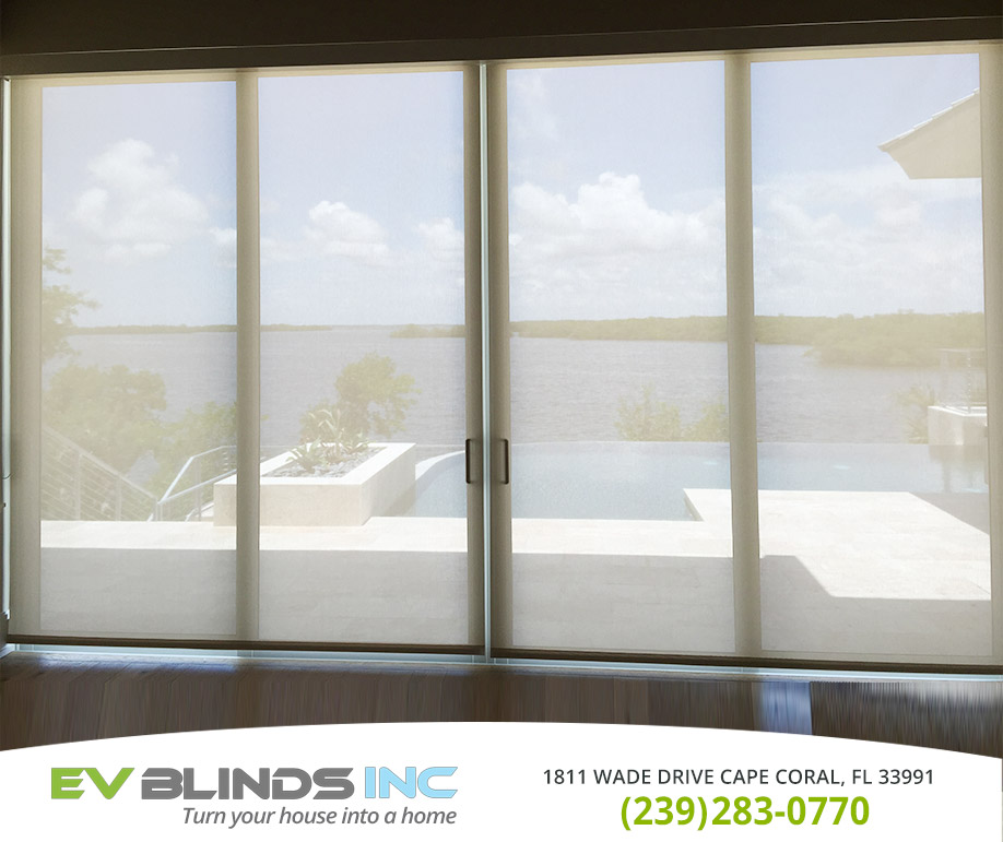 Roll Up Blinds in and near Marco Island Florida