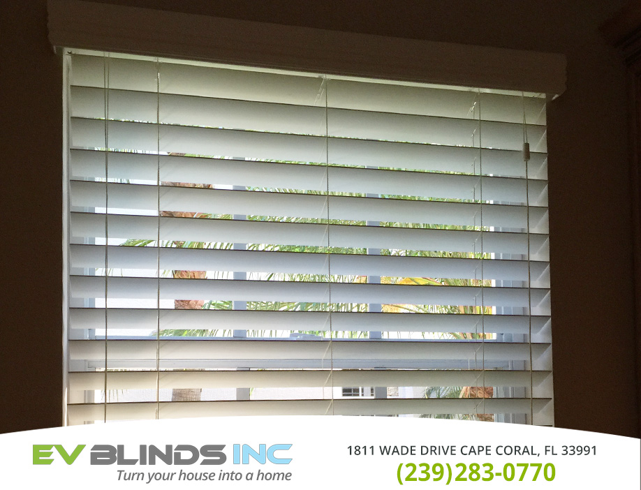 3 Inch Blinds in and near Naples Florida