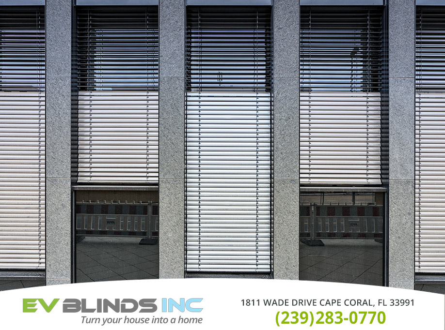 Automatic Blinds in and near Naples Florida