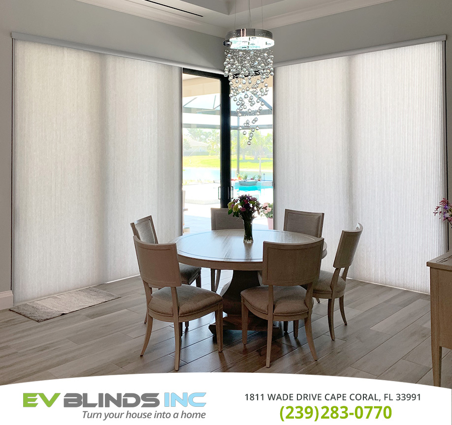 Patio Door Blinds in and near Naples Florida