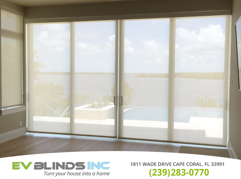 Solar Blinds in and near Naples Florida
