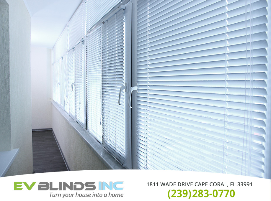 Vinyl Blinds in and near Naples Florida