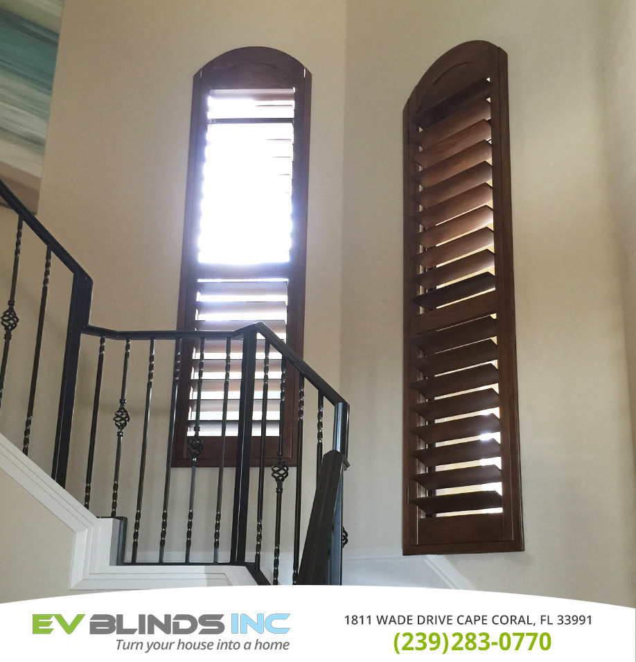 Wooden Blinds in and near Naples Florida