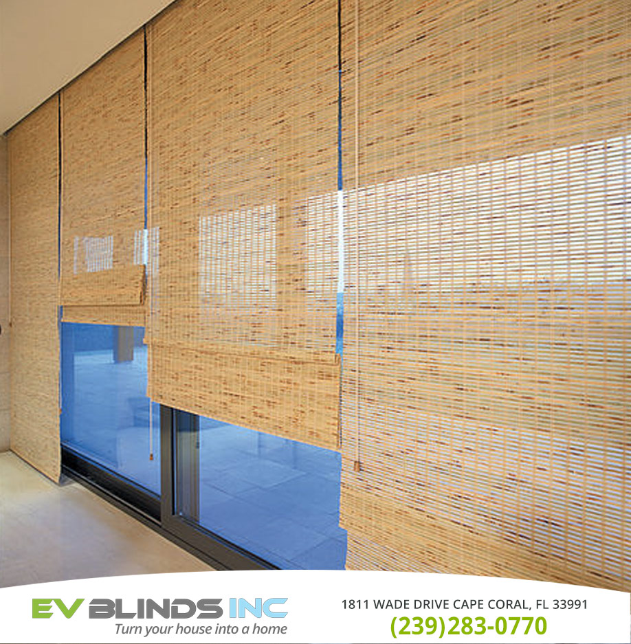 Bamboo Blinds in and near North Fort Myers Florida