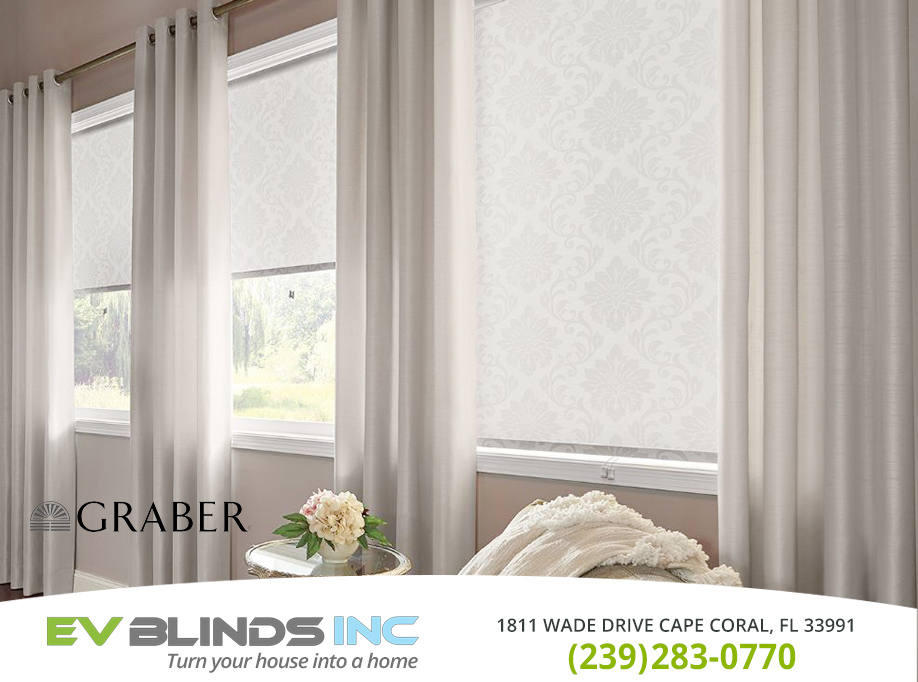 Graber Blinds in and near North Fort Myers Florida