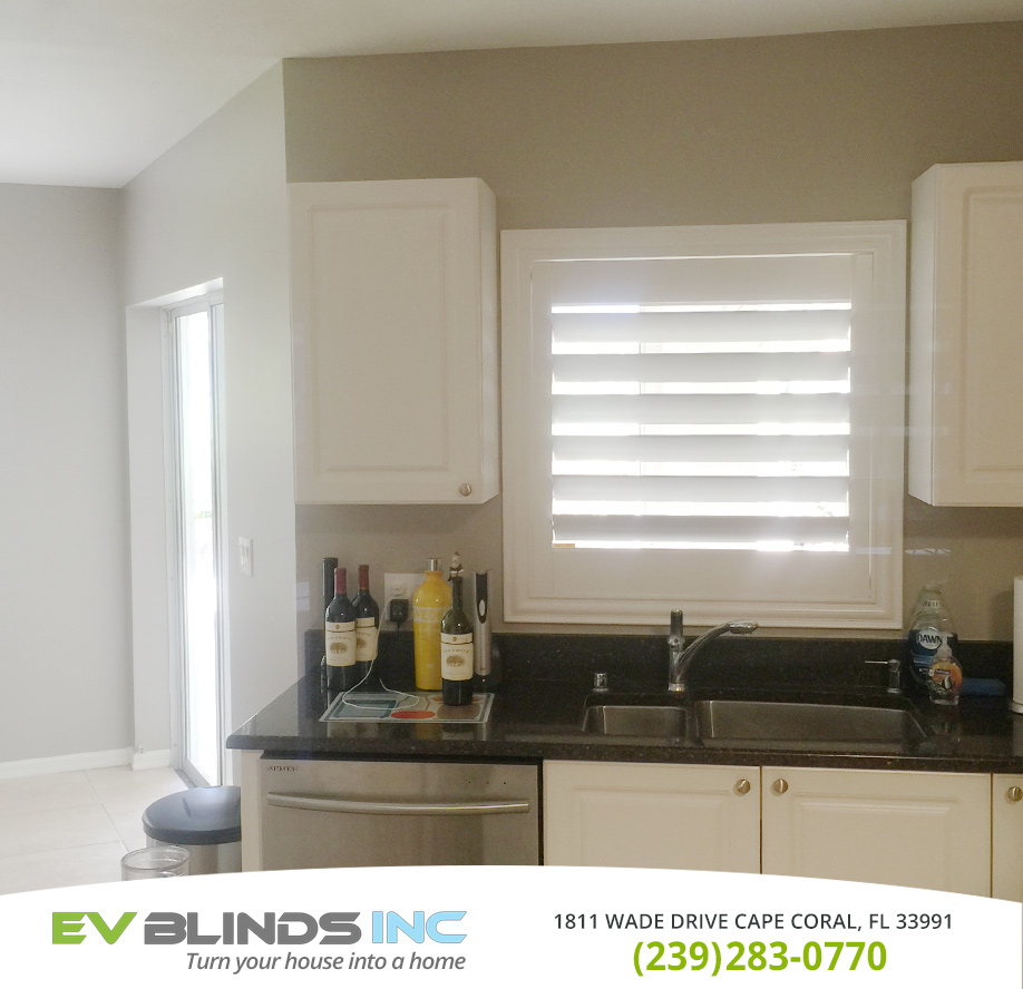 Kitchen Blinds in and near North Fort Myers Florida