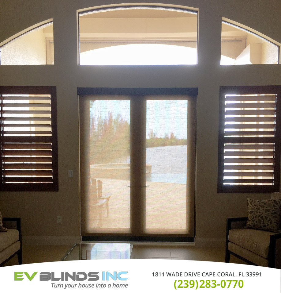 Shade Blinds in and near Sanibel Florida